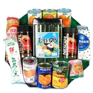 缶詰・果物・線香ローソク・乾麺・お米などの詰合せ